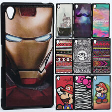 Shockproof Superhero Rugged Hybrid Bumper case cover for Sony Xperia Z1 L39H