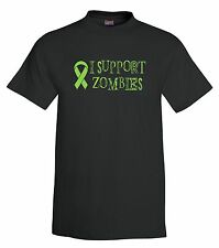 I Support Zombies T-Shirt,zombies,halloween,tee,funny