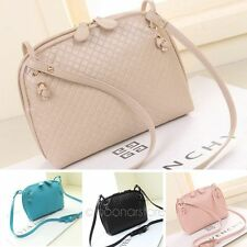 New Womens Fashion Shoulder Bag PU Leather Quilted Satchel Cross Tote Handbag