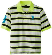 NEW US POLO ASSN BOY'S JUNIOR ATHLETIC PREMIUM STRIPE GOLF POLO SHIRT T-SHIRT