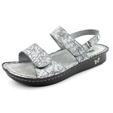 Alegria Verona Womens Open Toe Patent Leather Slides Sandals Shoes Used