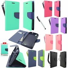 For ZTE Grand X Z777 Designer Series Wallet ID Pouch Case Phone Cover Stylus
