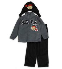 JAKE AND THE PIRATES Boys 2T 3T 4T Set OUTFIT Shirt Pants HAT Fleece Disney