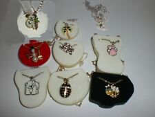1-  CHARACTER CHARM NECKLACE WITH ADJUSTABLE NECKLACE NEW NO BOX