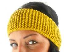 O'Neill Bandana Headband Auricle Yellow Crochet Pattern Ear Warmer