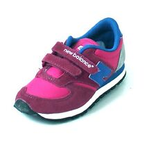 New Balance 420, Children Sneaker Trainers, Pink Blue Gray, Leather, Textile,