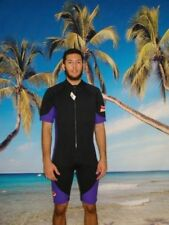 Wetsuit 3MM Shorty Style Front Zip up to 6X Plus Size Stretch Series 8809XS