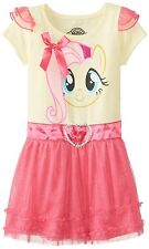 My Little Pony Little Girls' Fluttershy Yellow Costume Dress FREE SHIPPING