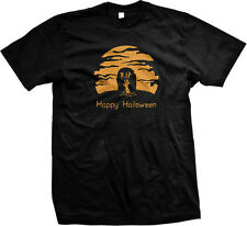 Rise Of The Dead RIP Zombies Halloween Scary Living Ghouls Ghosts Mens T-shirt