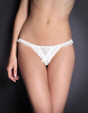 AGENT PROVOCATEUR FIFI THONG CREAM ALL SIZES AVAILABLE  BNWT