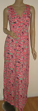 Floral Print Maxi Dress   - New Linea House of Fraser Pink Jersey RRP £89