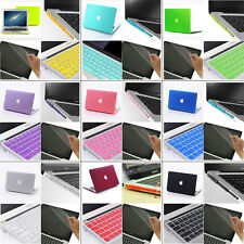 4in1 Matt Hard Case Cover Keyboard Cover +Plug For MacBook pro 13 & Retina Pro