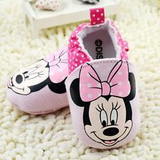Cotton Baby Girls Minnie Mouse 2 Toned Pink Disney Shoe Shoes  Pre Walkers