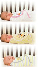 Summer Infant SWADDLE ME PURELOVE Deluxe Baby/New Newborn COTTON Wrap/Blanket