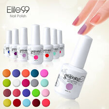 New Bling Colours Base Top Coat Nail Art Soak-Off Gel Polish UV LED Varnish 15ml