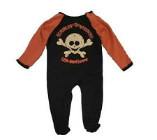Harley Davidson Baby Infant Romper Outfit One Piece - Boys Coverall