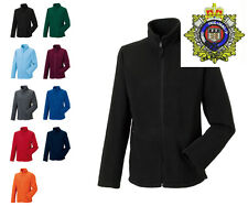 Royal Logistic Corps  Full Zip Fleece, Embroidered Logo