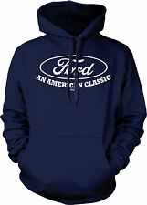 Ford An American Classic Mustang Racing Shelby Tough Muscle Cars Mens Sweatshirt