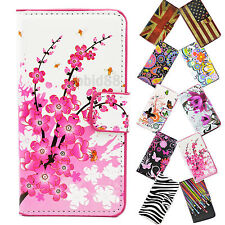 Elegant Protective Phone Leather Flip Stand Wallet Accessories Case Cover For LG