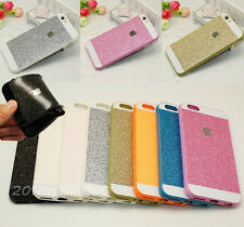 Bling Glitter Shinning TPU Rubber Soft Case Cover for iPhone 4S 5S 6 6S Plus