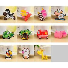 1× New Cute Cartoon Animals Baby Early Education Toy Fridge Magnetic Sticker Hot