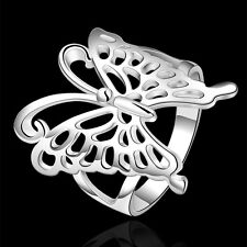 Wholesale women's new charm beautiful 925 sterling silver butterfly Ring R540