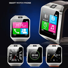 GV08 Bluetooth Smart Wrist Watch Phone with Camera For Android Cell SIM TF Card