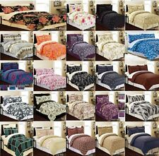 8 Piece Comforter Bed In A Bag Set - Queen, King or Cal King - Many Designs
