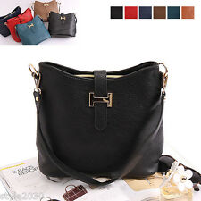NEW Women Ladies Shoulder Bag Tote Satchel Cross Body Faux Leather Purse Handbag