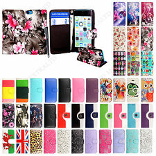 For Apple Mobile Phones Printed Leather Magnetic Wallet Flip Case Cover + Stylus