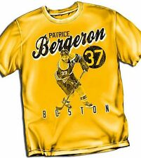 Patrice Bergeron Boston Bruins Adult Size T - Shirt Yellow