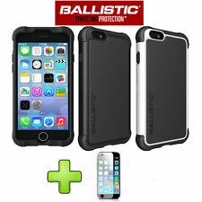 Ballistic Tough Jacket Series SG Shell Gel Case Cover For iPhone 6 /6 Plus +Film
