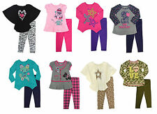 New Healthtex Baby Toddler Girl Knit Tunic Top & Legging Set Outfit  12M 4T 5T