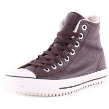 Converse10B Chuck Taylor All Star Converse Boot Leather/Shearling Burgundy New