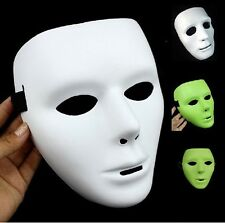 Hot Sale White/Fluorescent Color JabbaWockeeZ Mask Gras Masks Cool Dancer