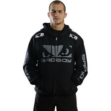 Bad Boy Walk-In Zip Up Hoodie - Black