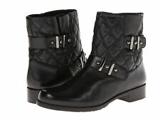 STUART WEITZMAN Womens Download Ankle Bootie Boots Black Nappa Leather QW99853