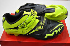 Scarpe NORTHWAVE MTB SPIKE EVO Yellow Fluo/Black/SHOES NORTHWAVE SPIKE EVO YELLO