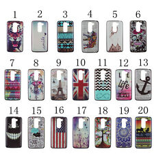 20 Kinds of Fashion Design Pattern Hard Back Case Cover For LG G2 Mini G2 G3