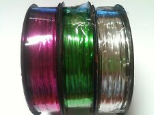20 metres Metallic Twist Tie Wire Rope Candy Lollipop Cake Cello Bag Party Gift