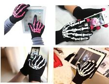 New Unisex Touch Screen Gloves For Smartphone/iPad Knit Skeleton Gloves Mitten