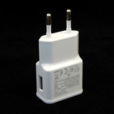 "White 2A USB Home Wall Charger Adapter For Samsung Galaxy Tab 3 7"" 8"" 10.1"""
