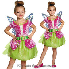 CK294 Tinker Bell and The Pirate Fairy Pirate Tink Kids Girls Book Week Costume