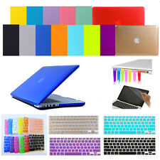 "4in1 Crystal Hard Case Cover Keyboard Skin Plug for MacBook Air Pro 11"" 13"" 15"""