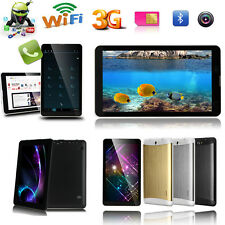 "7"" GSM 3G Phablet Android 4.4 PC Tablet Bluetooth Dual Camera Smart Phone 8GB"