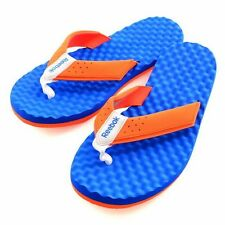 Reebok Mens Splashtopia 2.0 Flip Flop Sandal V54430 Orange/Blue UK 11,12