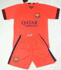 new 2014-2015 BARCELONA AWAY kit shirt and short 3-14 years