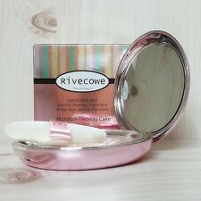 [Rivecowe] Moisture Twoway Cake Powder Improved Skin Vitality, UV Protection.