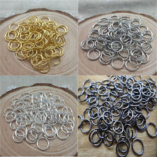Wholesale NEW DIY 4mm/5mm/6mm/7mm/ Jump Rings Open Connectors Jewelry Making