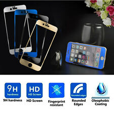 4 Colors Mirror Tempered Glass Film Front Screen Protector for iPhone 6/6 Plus